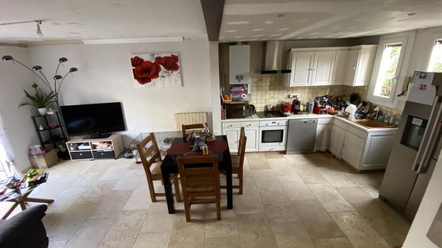 Photo Travertin intérieur pour sol cuisine et salon