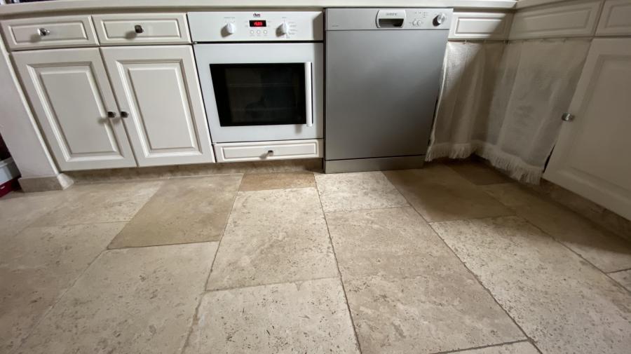 Photo Travertin pierre pour sol cuisine